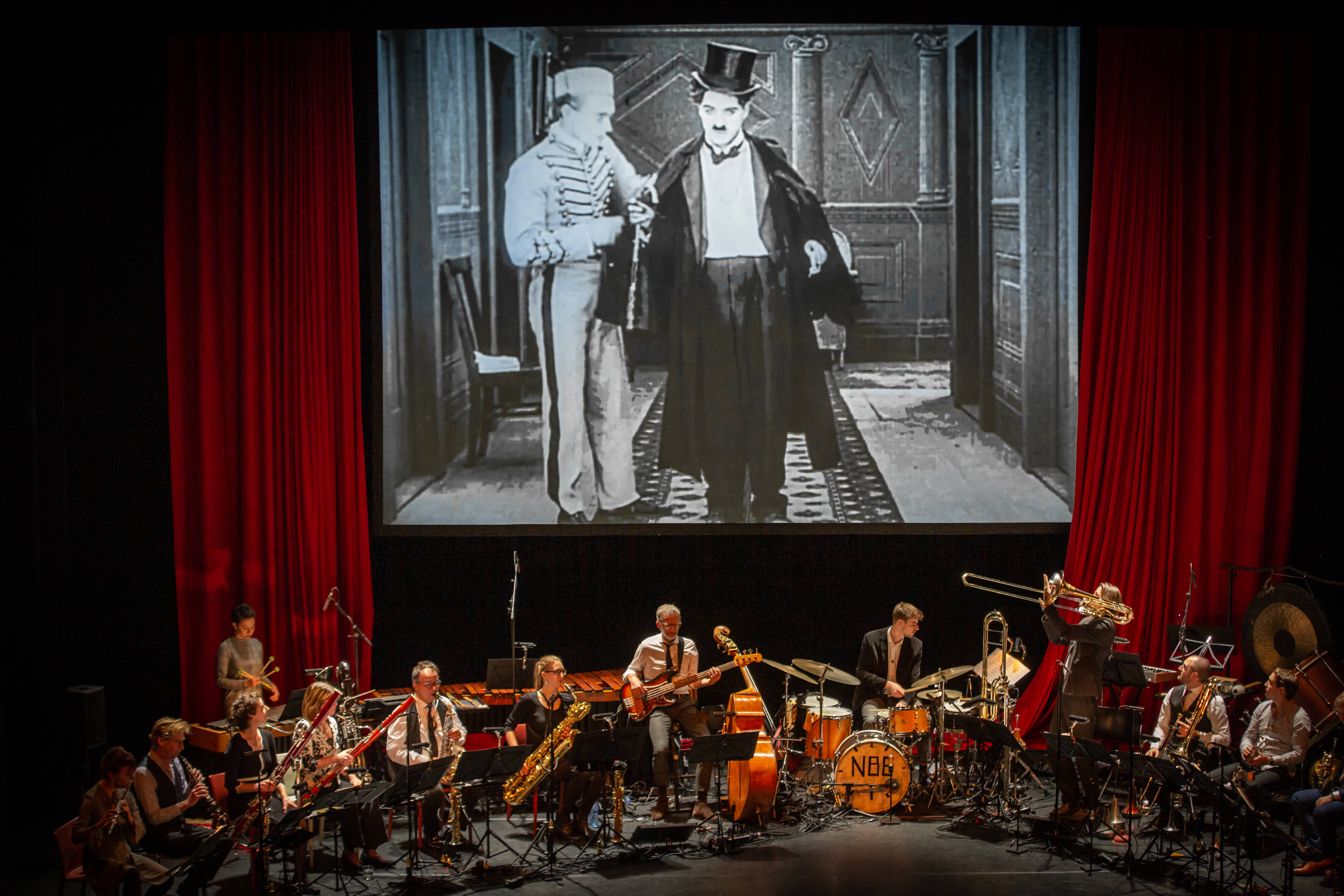 GEANNULEERD - Nederlands Blazers Ensemble speelt The Unknown Chaplin in Theater Rotterdam