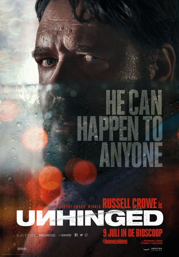 TRAILER. Unhinged - Russell Crowe in road rage thriller