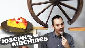 VIDEO: The Cake Server - Joseph's most complex machine ever