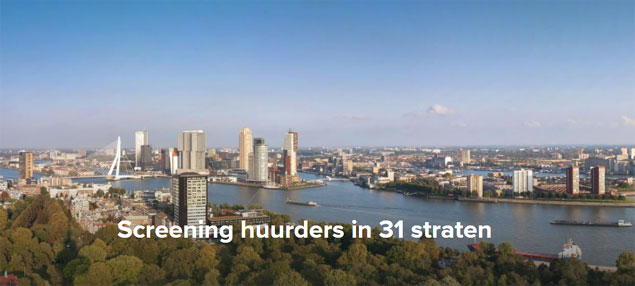 Screening huurders in 31 straten