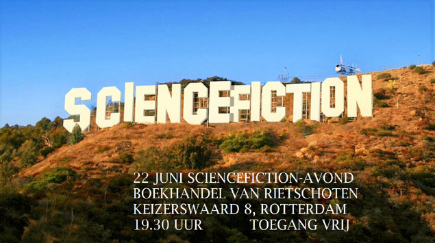 Sciencefictionavond is in
