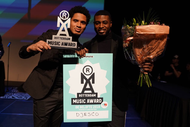 Rapper Djesco wint Rotterdamse Belofte - Rotterdam Music Awards 2018