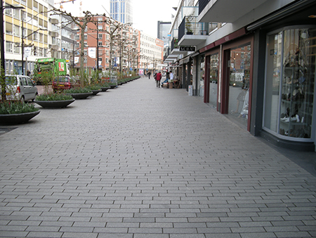 Zou het niet mooi zijn als we ieder jaar een haiku in de Karel Doormanstraat er bij zouden leggen, zodat tenslotte heel de Karel Doormanstraat met haiku's geplaveid zal zijn?