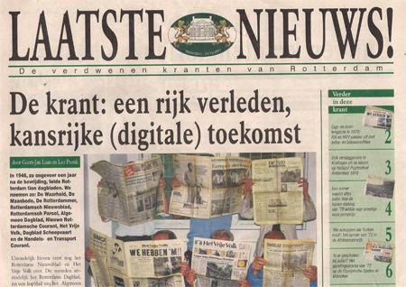 Steeds meer papieren kranten verschijnen ook digitaal of bestaan alleen in digitale vorm. Daarmee is de stap naar 'jatjournalistiek met bronvermelding' klein.