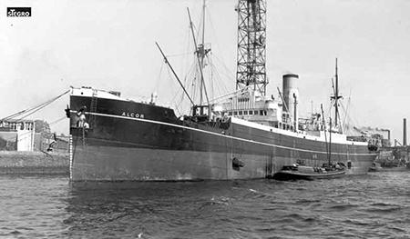 Op 2 augustus 1914 voer het ss Alcor met een lading kolen van Rotterdam naar Kroonstad en werd door een Russisch oorlogsschip aangehouden en bij een vijandelijke haveningang tot zinken gebracht.