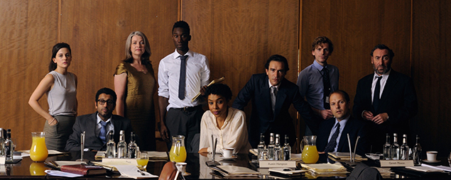 De film 'WarBook' gaat over een simulatiespel van Britse hoge ambtenaren. Foto: International Film Festival Rotterdam
