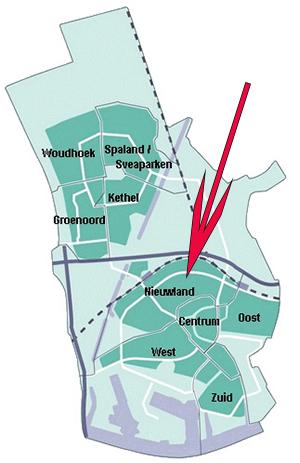 Een scherpe beoordeling in het SCP-rapport is voorts dat de herstructurering van Nieuwland laat op gang kwam ten opzichte van wat elders in de regio gebeurde doordat er onvoldoende politiek draagvlak in Schiedam was.