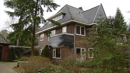 Het huis van Els Borst te Bilthoven waar ze in februari 2014 werd gevonden.
