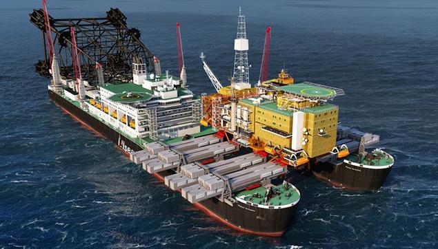 Een voorbeeld van de kracht van de Rotterdamse haven is de afbouw van de Pieter Schelte. Dit grootste werkschip ter wereld van 382 meter lang is gebouwd in opdracht van offshore-dienstverlener Allseas en wordt afgebouwd op een binnenmeer op Maasvlakte 2. Speciaal voor het schip wordt daar een diepe put gegraven. Het nieuwe hefsysteem, gebouwd in Italië, is in staat om drie Eifeltorens op het schip te hijsen. Dit geeft aan om welke gewichten het gaat. Allard Castelein noemt dit schip een prima staaltje van de Nederlandse industrie.