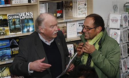 Manuel Kneepkens in gesprek met beeldend kunstenaar Willem van Hest.