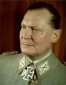 Goering, nazi nummer 2, aan wie de Luftwaffe was toevertrouwd, deed voor zijn Fuhrer in 'rücksichtslosigkeit' niet onder.