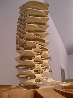 Model van Zaha Hadid