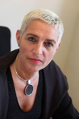 Staatssecretaris Wilma Mansveld.