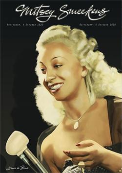 Een van de jazzgrootheden van Rotterdam; Mitsey Smeekens.