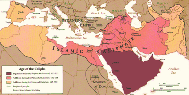 Na de vele eeuwen waarin de islamitische wereld qua machtspolitiek en cultureel een centrale positie had ingenomen, kwam de neergang hard aan.
