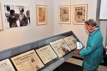 Eind jaren '60 had Rotterdam nog zeven dagelijks uitkomende dagbladen in print die zich met een editie of rechtstreeks op de regio richtten. Foto: Rinus Vuik