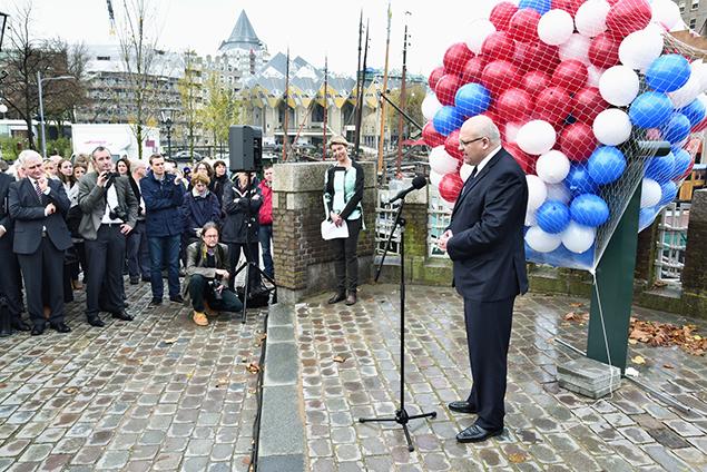 Toespraak van de Slowaakse Ambassadeur dhr. Roman Bužek. Foto: CBK/Max Dereta
