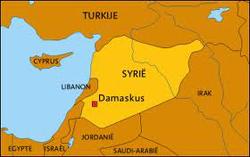 Syrie is al langdurig in een burgeroorlog verwikkeld.
