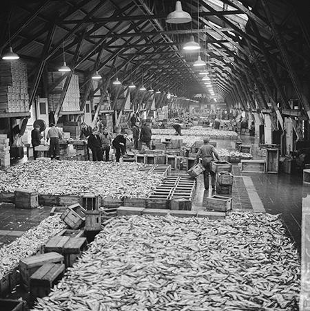 'Mijn grootste klus werd eind 1963 een keiharde staking van Scheveningse vissers'. Foto: Haagse beeldbank