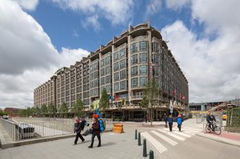Ook in het Groothandelsgebouw kan worden binnengekeken tijdens de Dag van de Architectuur. Foto: Ossip van Duivenbode