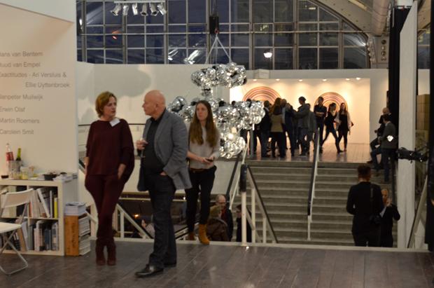 Opening 'Art Rotterdam' Wilhelminakade.