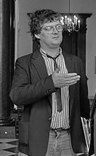 Toenmalig hoofdredacteur van Het Vrije Volk, Gerard Krul.