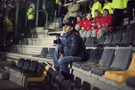Tien jaar geleden ontstond bij Leonardo Pansier het plan om iets te maken waarmee je kon laten zien wat de club Feyenoord voor zijn supporters betekende. Foto: IFFR