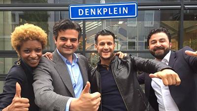 'De nieuwe partij DENK, een partij die wordt gevormd door twee Turken en een Berber. Nou als er twee volkeren zijn met een slavernijverleden zou ik als eerste aan deze heren denken'.