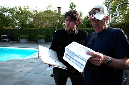 Regisseur Guido van Driel links.Foto's: International Film Festival Rotterdam
