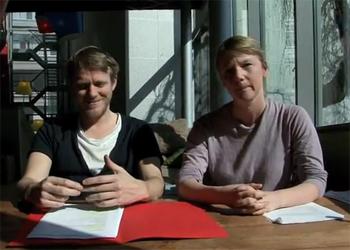 Theatermaakster Laura van Dolron (37), geboren Rotterdamse, vertrok naar Amsterdam.