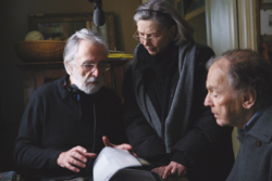 Still Regisseur Haneke, Emanuelle Riva, Jan Louis Trintignant in ´Amour´