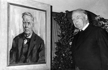 Karel van der Mandele wordt beschouwd als de grote initiatiefnemer van Museum Boijmans van Beuningen, Diergaarde Blijdorp en talloze andere zaken. Foto's: Uitgeverij Atlas Contact