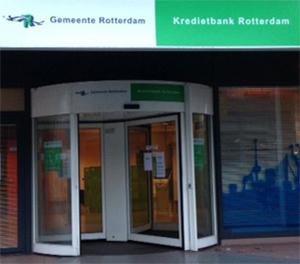 De kredietbank Rotterdam (KBR) adviseert, begeleidt en ondersteunt mensen bij de aanpak van hun financiële problemen. De KBR is een onderdeel van de gemeente Rotterdam.
