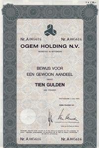 Een informant had interessante informatie over het in schandalen failliet gegane OGEM-concern.