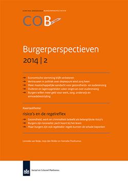 Continu Onderzoek Burgerperspectieven (COB) van het Sociaal Cultureel Planbureau in het tweede kwartaal.